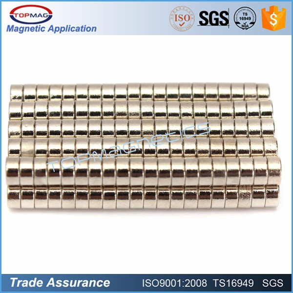 Permanent Type and Industrial Magnet Application n40 tube permanent neodymium magnet