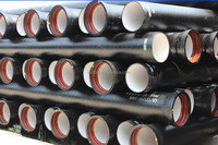 Cost effective iron pipes of DN80-DN1200