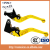 Gold and black M002-31-DB80/V4 motorcycle CNC parts brake hand levers for aprilia TUONO V4R/Factory brake and clutch