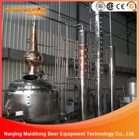 SUS 304 Alcohol Distillation Equipment For