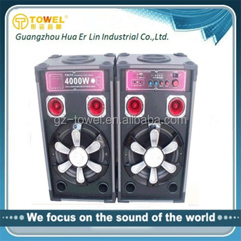 2.0 Outdoor Stage Active Karaoke Audio Speaker Sound Mixer