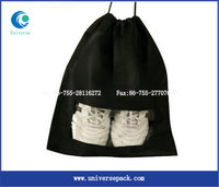 Drawstring Customized Personalized Golf Shoe Bag Polyester For Sale