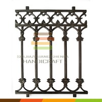 Wrought iron metal decorative safty 1.2 M Pool fence ornaments