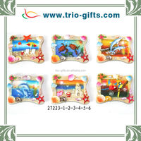 Wholesale Multicolor Polyresin Souvenir Magnet