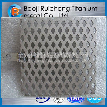 MMO coating titanium anode net for water treatment
