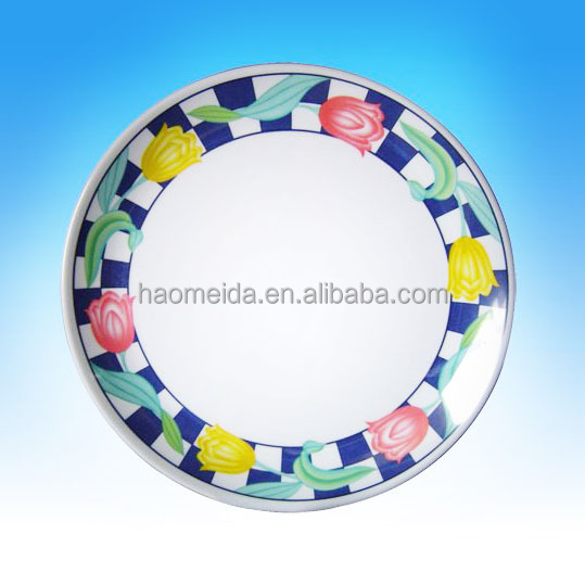 Best price of melamine plates bulk With Bottom Price