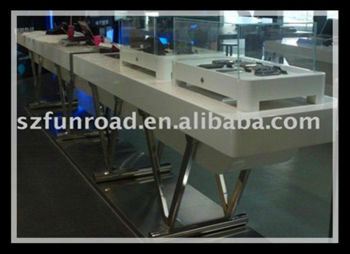 Funroad display stands for mobile accessories shop