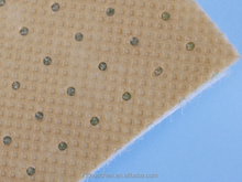 good quality stitch bond non-woven fabric with hot melt glue for shoes interling