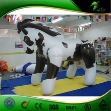 2015 new china fashion custom made small pvc inflatable figure toy, wild animal