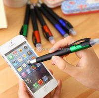 2015 new stylus pen with highlighter for promotion use