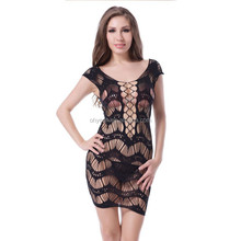 Spaghetti strap hot wholesale sleeping dress cheap beautiful sexy baby dolls