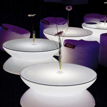 LED Table Specific Use and Modern Appearance wedding table round designs light bar furniture