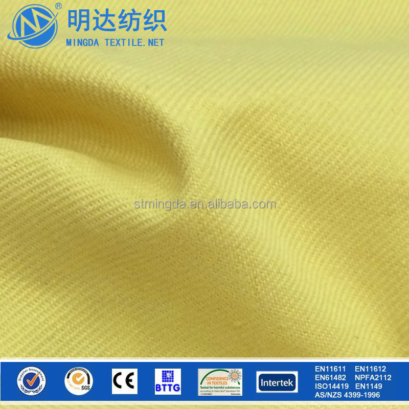 China fabric Supplier cheap price knitted para aramid carbon cut resistant kevlar fabric for workwear and gloves
