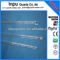 More efficient and energy saving halogen heat tube