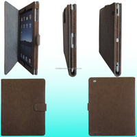 2015 Newest Design Leather Tablet Shockproof Cover For iPad 2/3/4