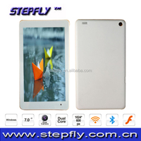China factory customized Win8 tablet PC 7 inch