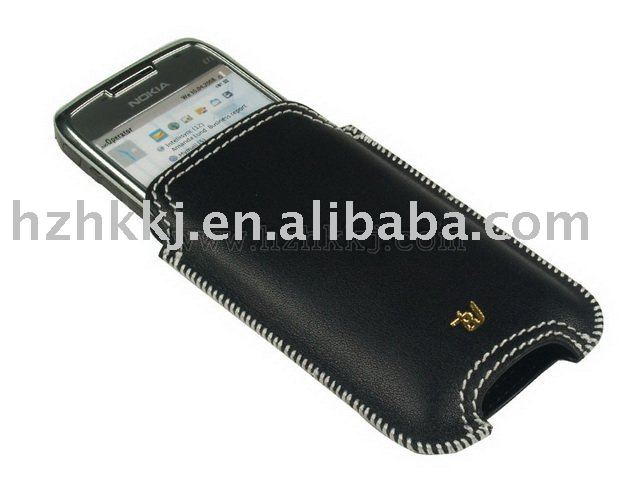 Leather Case For Nokia E71 TypeI (Scabbard Series)