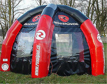 Custom logo inflatable advertising spider dome tent K5167