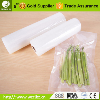 clarity high temperature cooking vacuum packaging film pa pe sterilization plastic roll