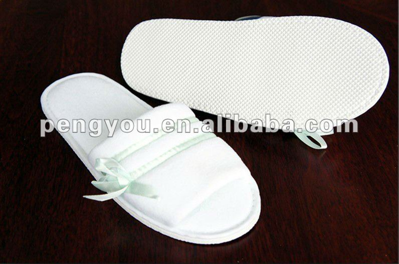 2014 popular five-star close toe hotel slipper