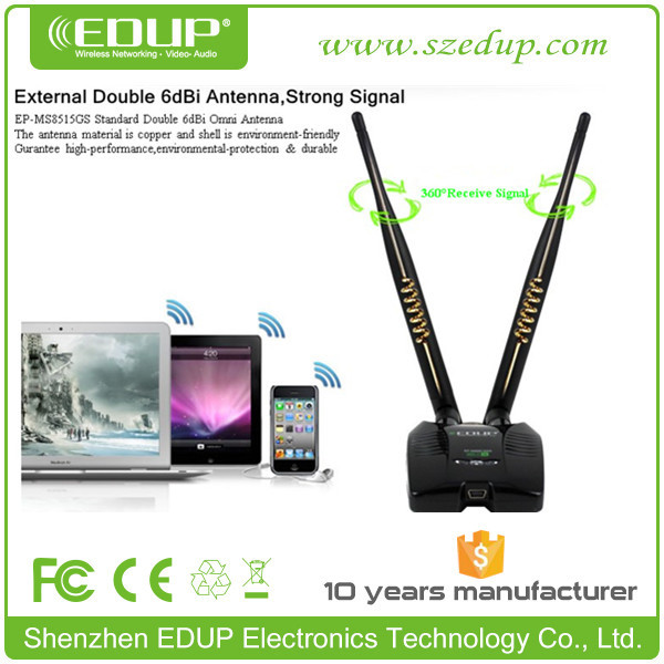 EDUP EP-8515GS 802.11n 150Mbps Wireless Adapter High power for Desktop Laptop Keyboard
