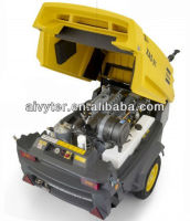 Hot Sale!! Atlas Copco Single Axle Diesel Rotary Screw Portable Air Compressor