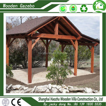 Cheap wood garden pavillion marble used gazebo for sale