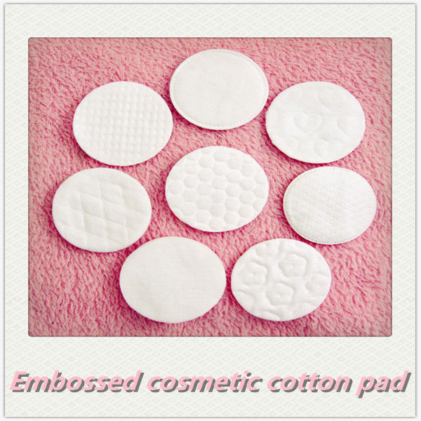 Cosmetic Embossed Cotton Pads Of High Quality