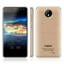 Cagabi One Cheap 4G Phone MTK6737 Quad Core Double Flash Camera 5+13MP, Memory 2G+16G, Dual SIM Unlock Mobile Phone Made in USA