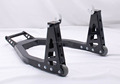 Motorcycle aluminum Stand with carbon handle
