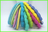 Chiffon with nylon elastic mixed colors chinese hair accessories