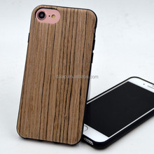 soft case with real wood texture for iphone 7 7 plus