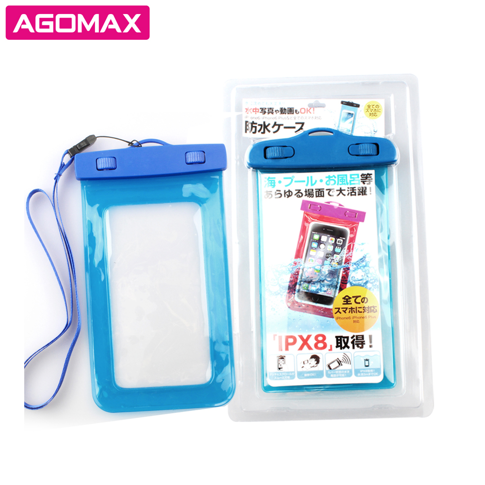 Waterproof Phone Case Pouch for iphone 5 5s 6 6s Under 4.7/5.5 inch for cell phone