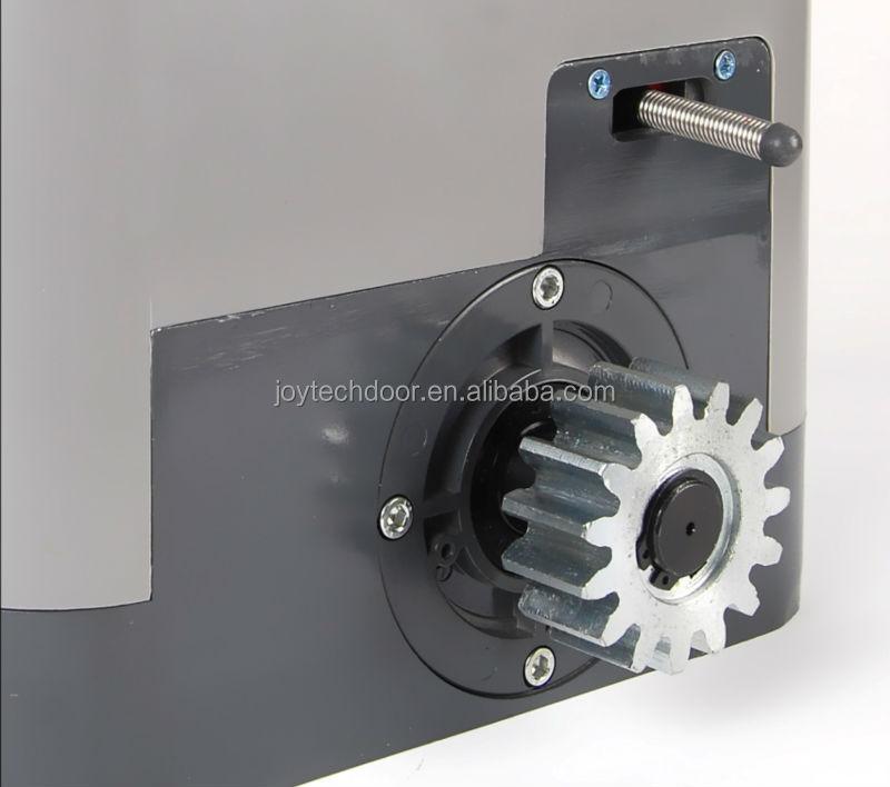 sliding gate motor installation manual