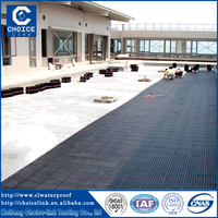 Roofing garden materials lightweight HDPE plastic drainage board