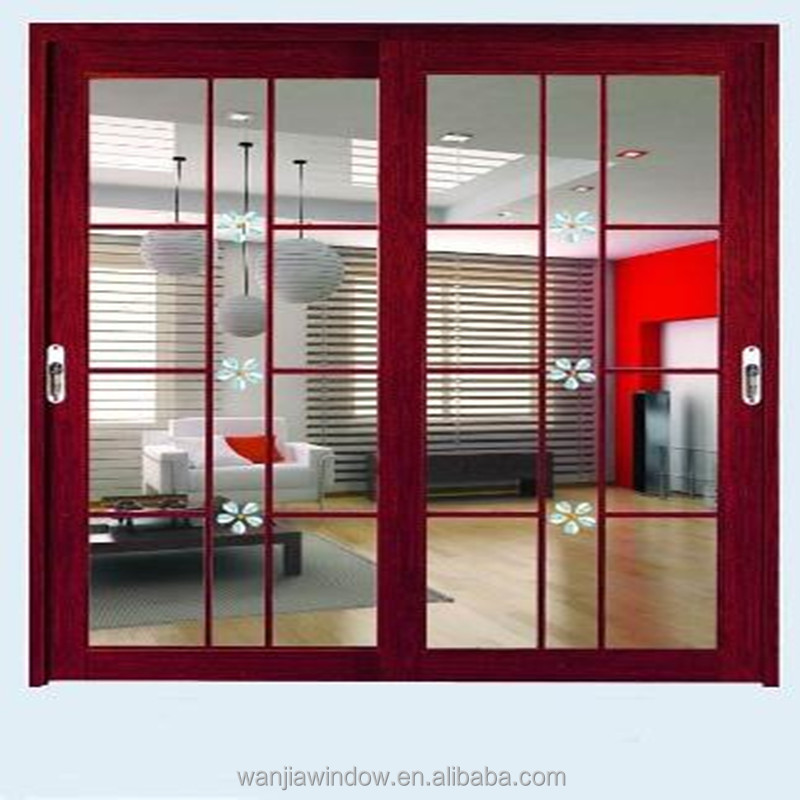 decorative partition wall sliding door wholesale price