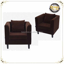 wholesale high quality in living room relaxing fabric lounge sofa chair