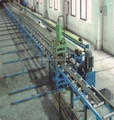 Brass bar or Copper extruding machine in industry