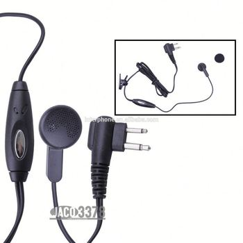 Ptt Earpiece For Moto-rola M Plug For S760 S765 S780 S785 Px508 ...