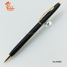 Valin China Manufacturer Promotional Custom LOGO Metal Slim Hotel Ballpoint Pen