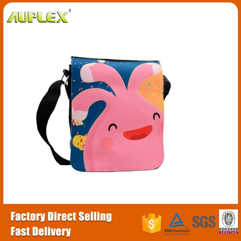Sublimation Blank Polyester Canvas Shoulder Bag