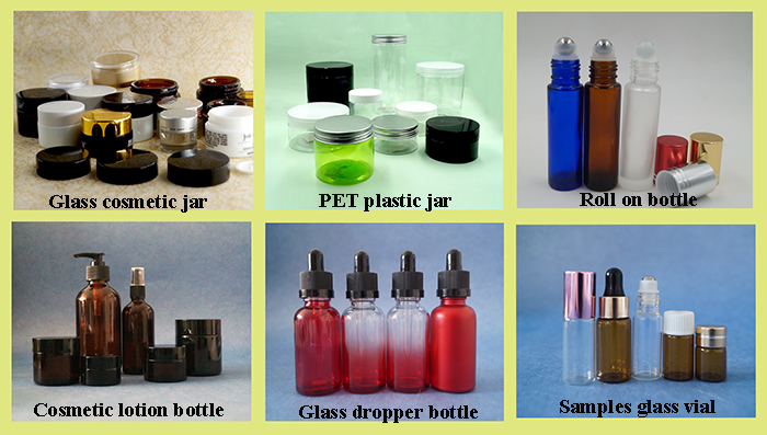 Bayonet cosmetic tube glass vials 3ml 5ml 10 ml essential oil bottle