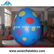 Giant Inflatable Easter Egg for Festival Decoration / Custom Holiday Inflatable Balloon