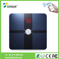 Digital Glass Weighing Body Fat Analysis Body Scales Smart Tracking APP Free Scale180KG