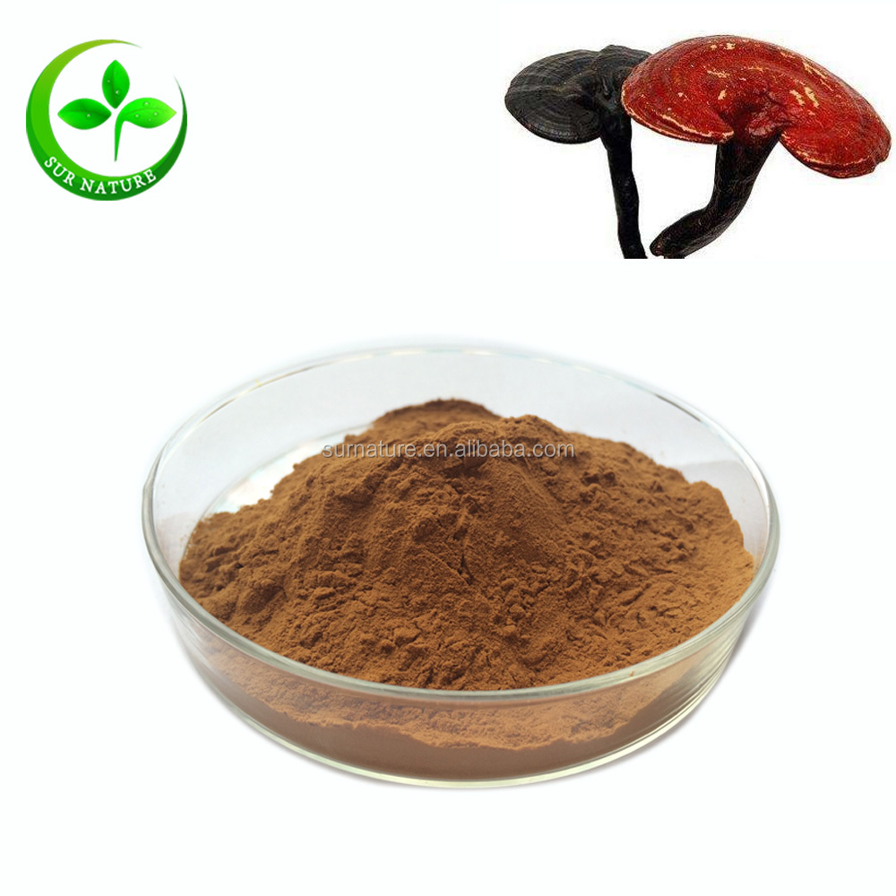 High Quality Chinese Herb Best Price 10% Polysaccharides Reishi Mushroom Extract powder