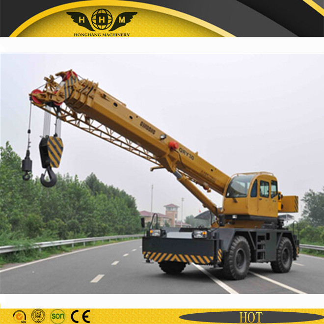 70Ton Rough terrain crane for desert,and mountain area