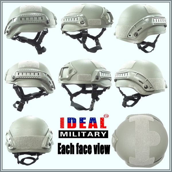 MICH2002 military helmet used for game dark helmet costume used motorcycle helmets for sale
