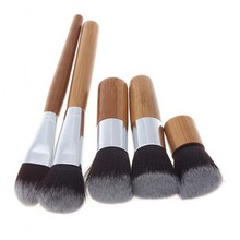 High Quality 11Pcs bamboo Cosmetic Makeup Brushes Free Samples Makeup Brush Set