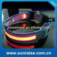 Good Quality hot selling waterproof led vinyl pvc dog collar made in China