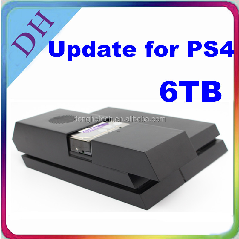 3.5'' hard drive with case for PS4 console/ from 1TB to 6TB/ with power supply